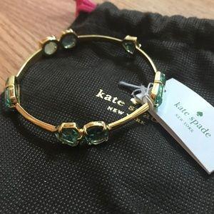 Kate Spade Gold/GIVERNYBLU Desert Stone Bracelet